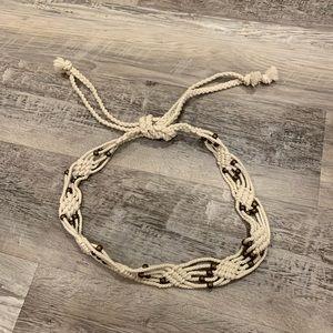 Macrame Knit vintage belt